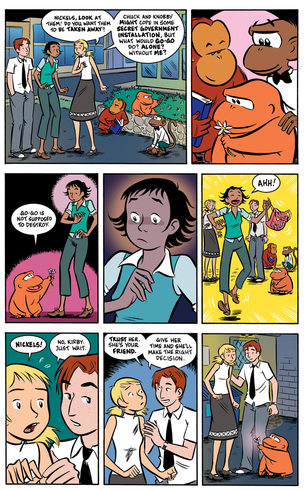 banana sunday by paul tobin & colleen coover, page 81